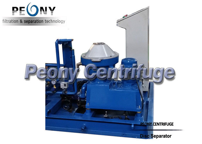 PDSD 1500 LPH Disc Marine Oil And Fuel Oil Centrifuge Separator / HFO Purifier Module