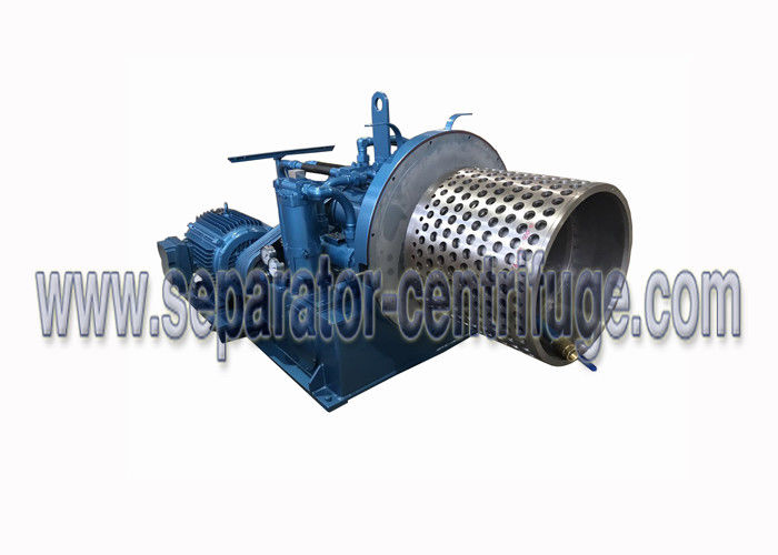 Two Stage Pusher Model PP Separator - Centrifuge Perforated Basket