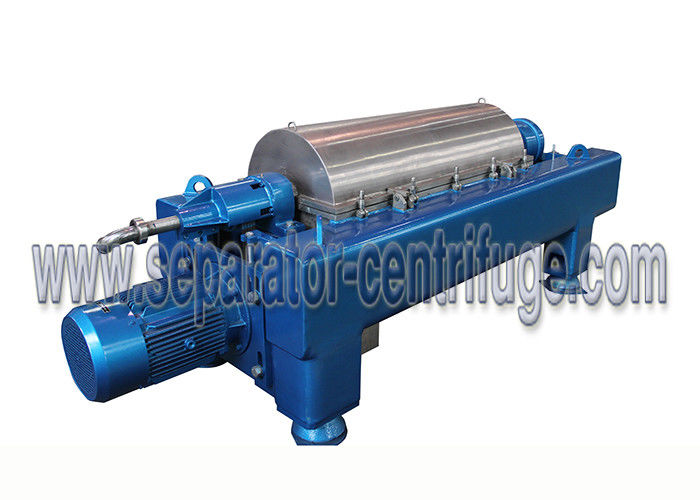 Integral Continuous Solid - Liquid Separation Oilfield Decantering Centrifuge / Drilling Mud Centrifuge