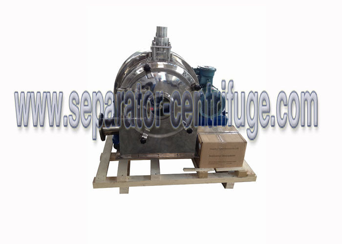 Horizontal Spiral Discharge PWC Food Separator - Centrifuge , Equipment For Suspension Liquid