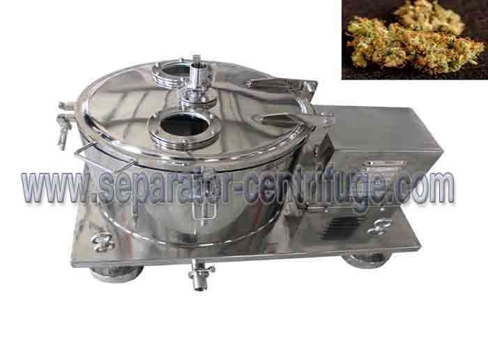 Model PPTD Top Discharging Basket Centrifuge For Ground Plant Washing With Alcohol
