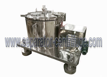 China Cesta manual química do centrifugador da filtragem da descarga superior para separar a suspensão distribuidor